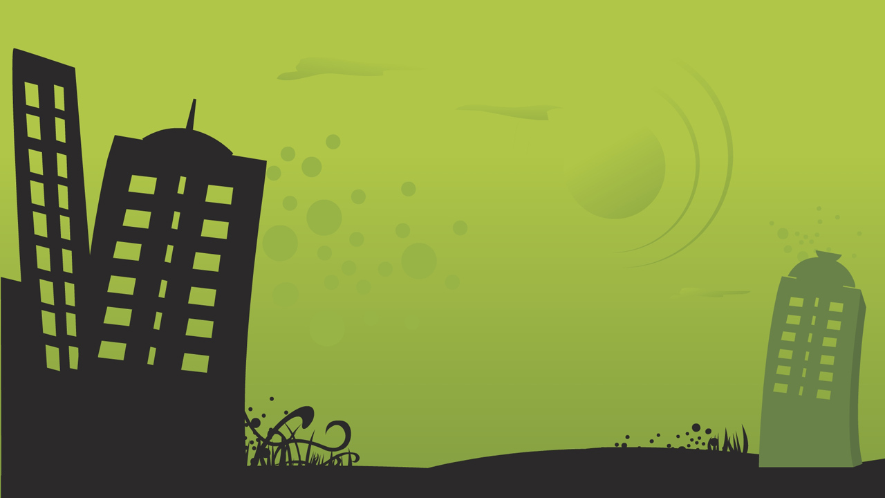 Green city      ...2d City Background